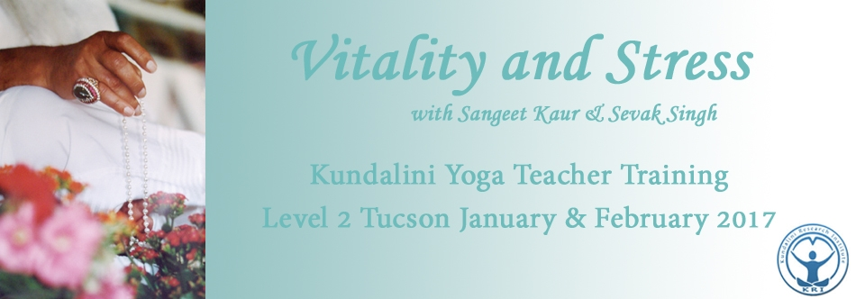 Level 2 Vitality and Stress Course at Yoga4All Tucson