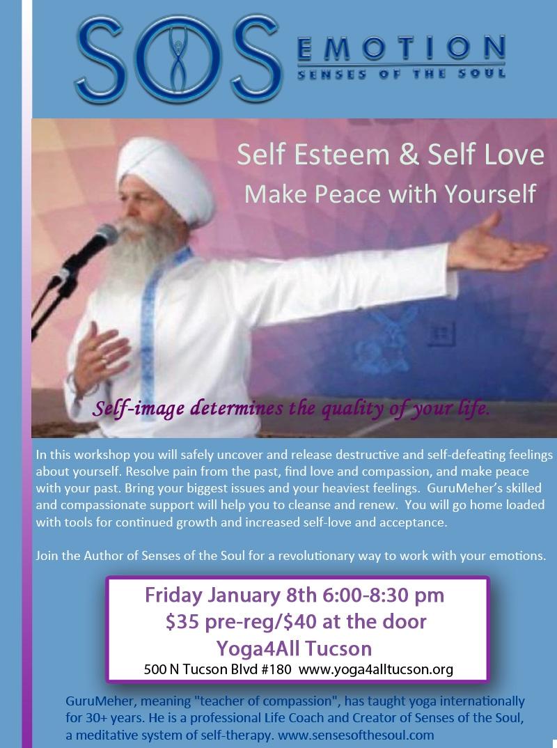 Senses of the soul self esteem self love workshop yoga 4 all senses of the soul self esteem self love workshop solutioingenieria Images